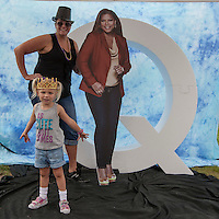 ABC7's Queen Latifa promo at the Montgomery County Fair - Photo by Jay Westcott