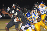Oxford High's Mike McGhee (10) vs. New Hope in New Hope, Miss. on Friday, October 18, 2013. Oxford High won 39-14 to remain undefeated.