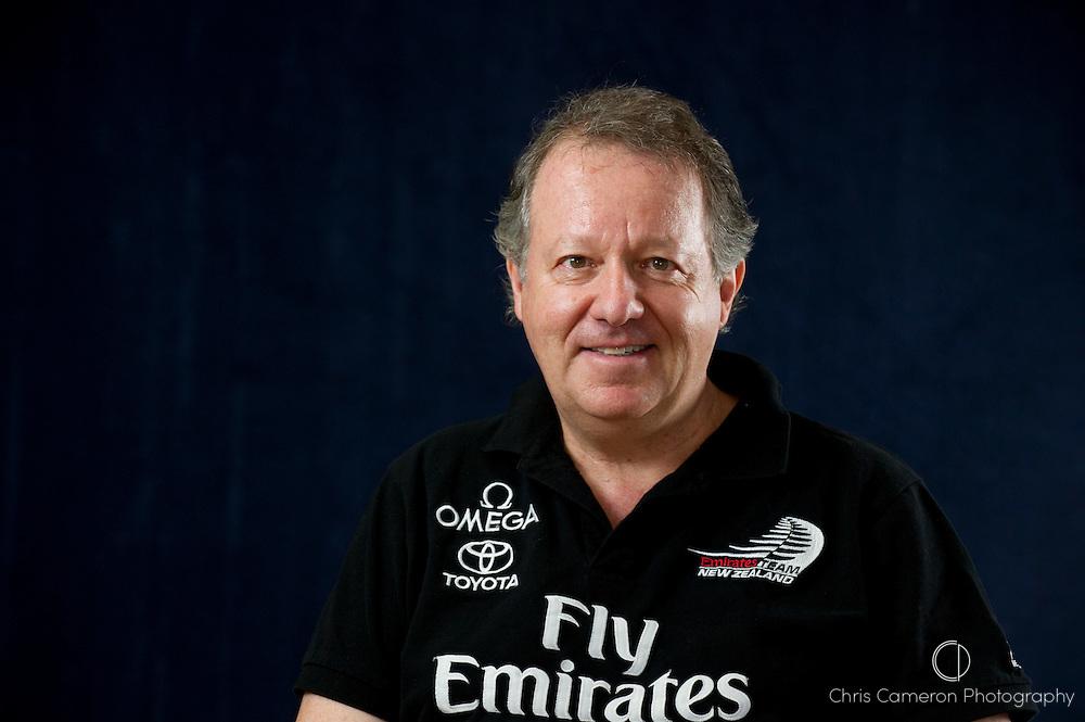 Emirates Team New Zealand Principal, Matteo de Nora. 13/4/2011