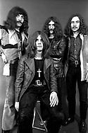 Black Sabbath 1970 Tony Iommi, Ozzy Osbourne, Geezer Butler, Bill Ward..© Chris Walter....