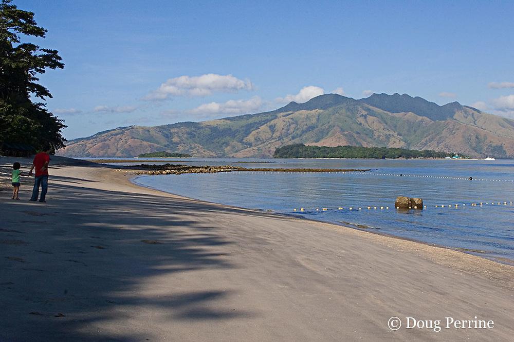 beach at Camayan Beach Resort, Subic Bay Freeport Zone, Philippines