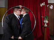 Brendan and Skylar at 'The 20th Annual Hayward Gay Prom,' at Chabot College, in Hayward, CA.