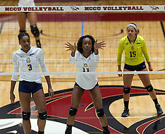 2016 A&T Volleyball at NCCU