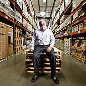Portraits of Jim Sinegal CEO of Costco Wholesale - 2008