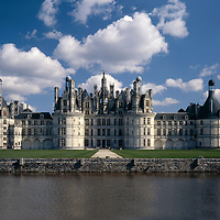 AA00391-01...FRANCE - Chateau de Chambord is the largest of the Loire Valley chateaus.