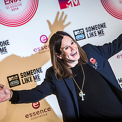 MTV EMA 2014 winners room