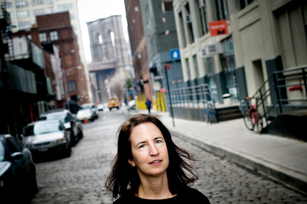 Sara Horowitz founder of The Freelancers Union, at the office in Dumbo, Brooklyn
