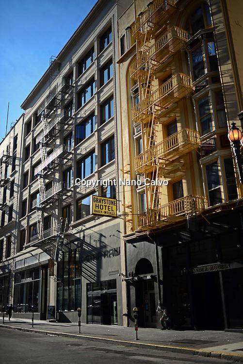Graystone Hotel building, San Francisco.
