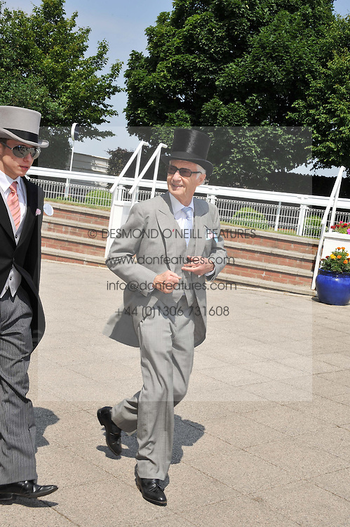 LESTER PIGGOTT at the Investec Derby at Epsom Racecourse, Epsom Downs, Surrey on 4th June 2011.