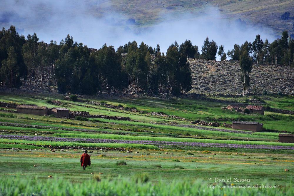 Landscape near Vacas, Cochabamba, Bolivia