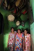 Sri Lanka. Slave Island a colourful community, Colombo. ii