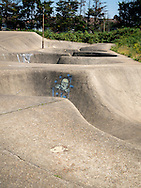 The Rom Skatepark, Hornchurch, Essex, Britain - Jul 2014.