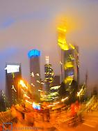 Finanzzentrum Frankfurt am Main, Euro, Deutschland, Hessen, Frankfurt a. Main