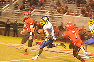 Oxford High's Glenn Gordon (11) vs. Center Hill in Olive Branch, Miss. on Friday, September 21, 2012. Oxford High won.