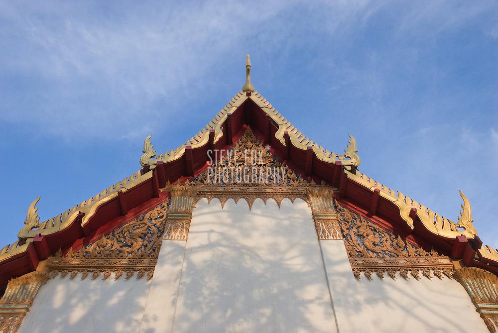 Decorative detail of a Buddhist Temple in Phra Nakhon Khiri Historical Park, Phetchaburi, Thailand
