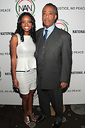 7 April 2011- New York,  NY- l to r: Tamika Mallory, National Executive Director and Rev. Al Sharpton, Founder, National Action Network at Uptown Magazine Presents the National Action Network's Executive Director's Reception held at the The Empire Room in the Empire State Building on April 7, 2011 in New York City. Photo Credit: Terrence Jennings