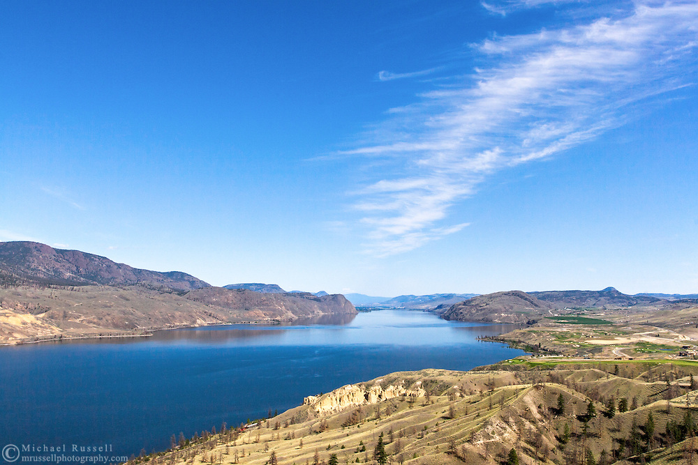 Kamloops Lake near Savona, British Columbia, Canada