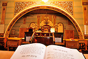 Georgia, Tbilisi, Interior of the Great Synagogue in the old city