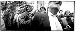 New York, NY -- Constructions rally, Columbus circle.©Stacy Walsh Rosenstock