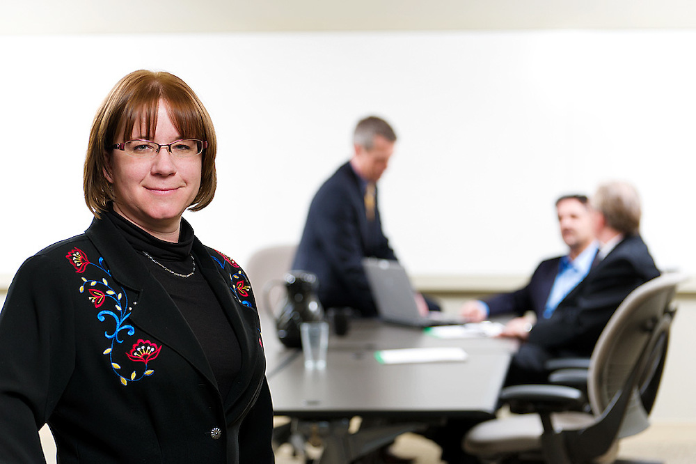 AFSC Office and staff portraits, Kathy Boland