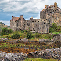 Eilean Donan Castle, in Dornie. This was on our way to Skye, from Fort William.