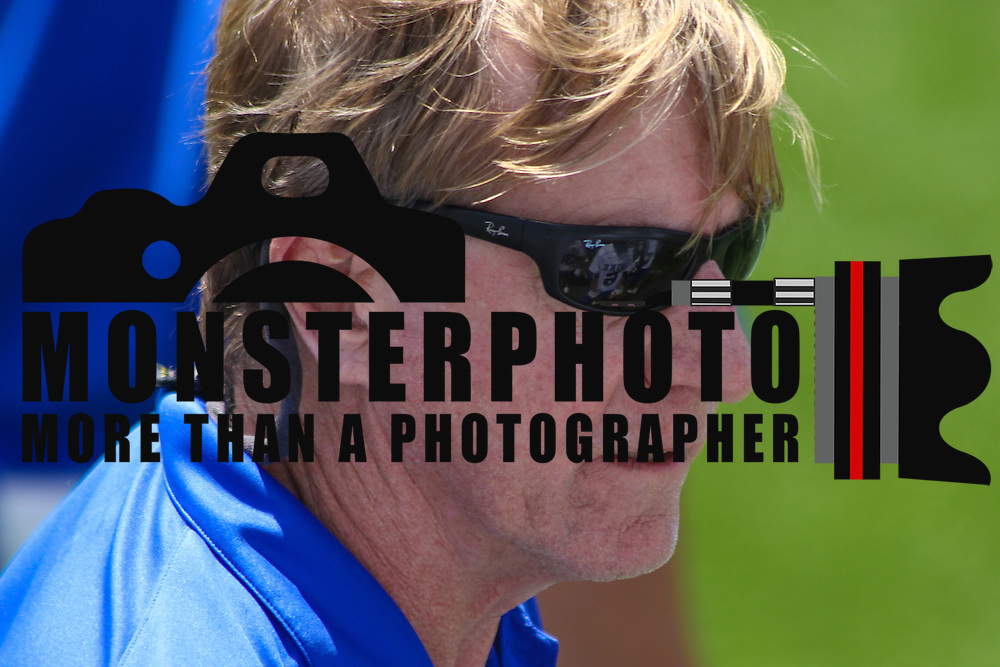 Dukes Head Coach John Danowski seen walking the sidelines during the second half of The NCAA Division I Men's Lacrosse Tournament game between the Defending national champion Duke and No. 8 ranked Johns Hopkins Sunday, May. 18, 2014 at Delaware Stadium in Newark, DEL