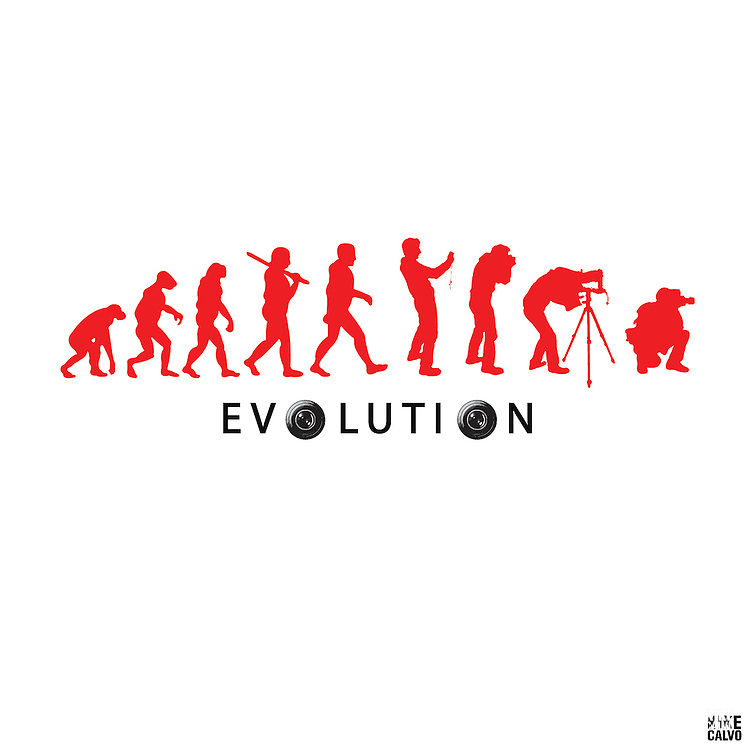 Kike Calvo´s Evolution by natural selection of a professional photographer