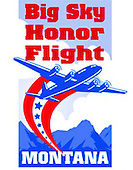 Big Sky Honor Flight I, June 15-16, 2012