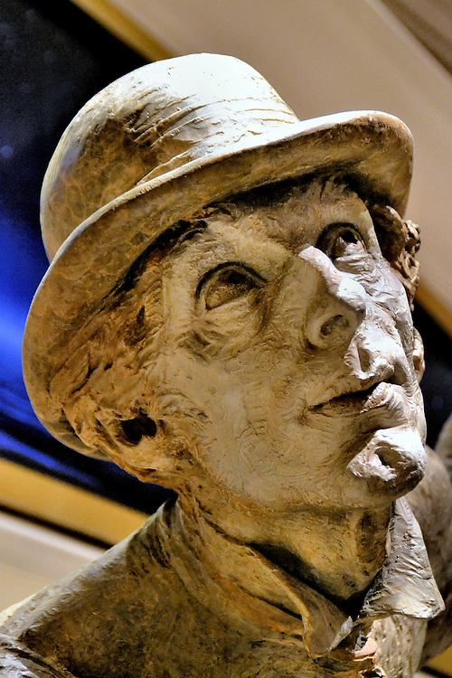 Richard MacDonald Rain Bronze Sculpture from Faces on the Strip at Las Vegas, Nevada