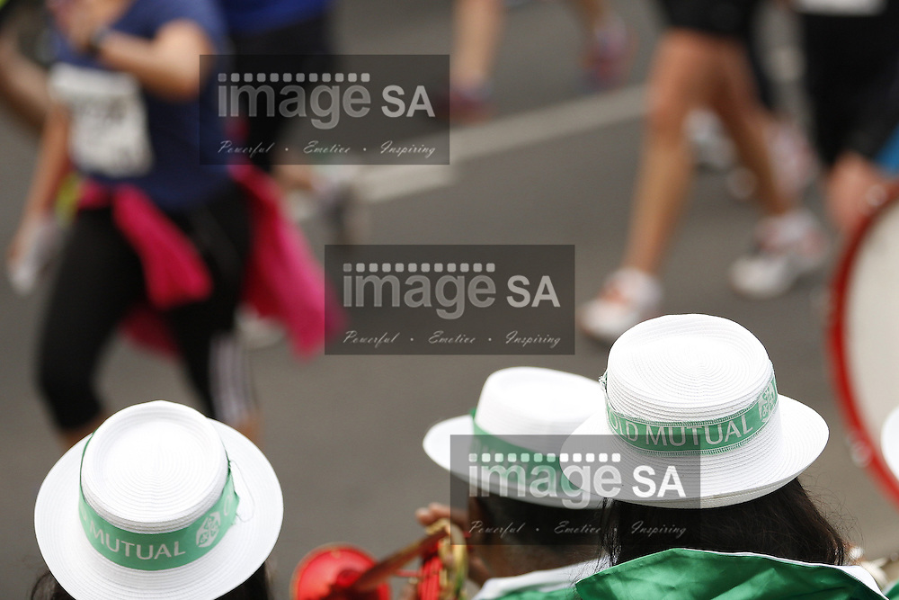 CAPE TOWN, South Africa - Saturday 30 March 2013, Cape Town Minstrels (klopse) during the half marathon of the Old Mutual Two Oceans Marathon. .Photo by Nick Muzik/ ImageSA