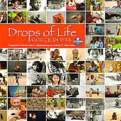 The photographs of this publication are &quot;drops of life&quot;, fragments of existences far away from the lights of the History: people, motions, uses and customs characterized by a deep humanity, a daily war for survive. Amurt Italy NPO is working from their &quot;side&quot; for more than 25 years: is present in 80 countries and guiding principle is the belief that a team of highly motivated and dedicated people can make an important difference to the lives of countless individuals living in extreme poverty. The success of this principle has ispired people in many countries all over the world to work tirelessly together in order to alleviate the suffering and ameliorate the living conditions of such individuals. All projects supported and implemented by Amurt are community based, emphasising and encouraging maximum participation from the local community in determining its own future.<br />