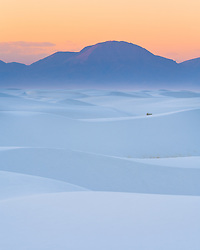 White Sands National Monument in Southeastern New Mexico near Alamogordo.