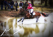 Nicole Mills at Belton International Horse Trials Saturday 2013