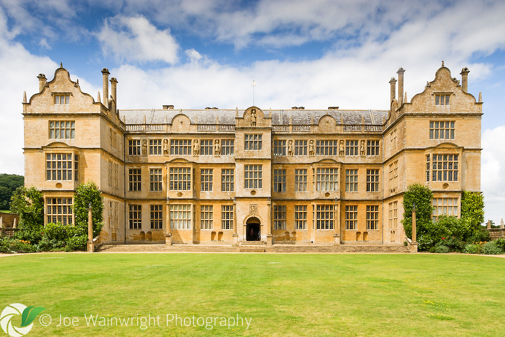 This magnificent historic house, in Montacute, Somerset, was built in the 16th century. Inside is a National Portrait Gallery exhibition featuring artwork from Elizabethan times.
