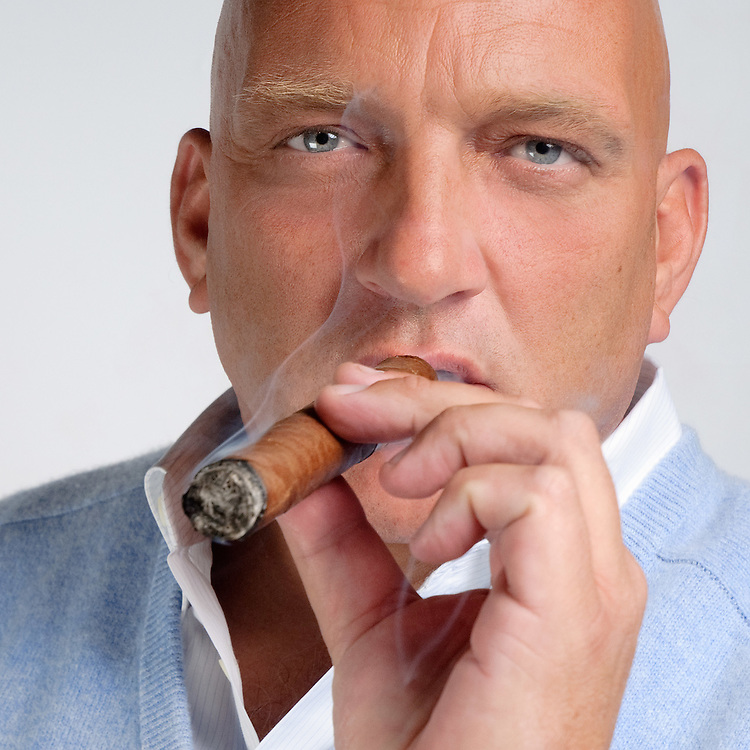 Herman den Blijker headshots voor RTL brochure Commercieel Beleid