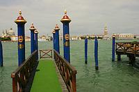 The boat landing at the Hotel Cipriani, Venice - © Owen Franken