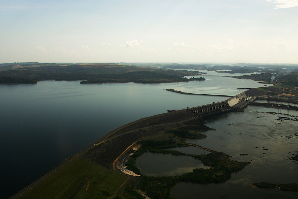 The Tucurui Hydroelectric Dam on the Tocantins River, Para State, Brazil.