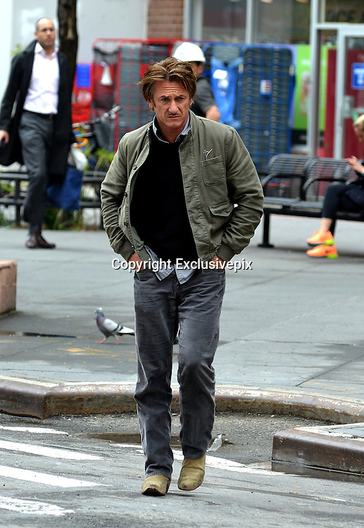 Sean Penn Out In Tribeca | Nick york