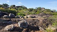 Rocky Outcrops in Yala National Park, Sri Lanka