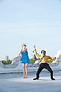 #26 Dance Better<br /> &lt;br&gt;<br /> Sleepy Kitty, Musicians/Graphic Artists<br /> &lt;p&gt;<br /> If you want to dance better, you could do worse than following the lead of Paige Brubeck and Evan Sult:  get dressed up, put on some Velvet Underground, and find a rooftop patio on which to cut loose.