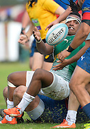 GEORGE, SOUTH AFRICA - SEPTEMBER 24: Freginald Africa of RSK Evergreens during the Gold Cup 2016 match between RSK Evergreens and Pirates at Pacaltsdorp Sports Ground on September 24, 2016 in George, South Africa. (Photo by Roger Sedres/Gallo Images)