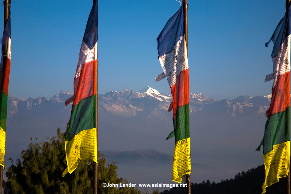 The village of Nagarkot at the fringe of the Kathmandu Valley, is the premier Himalaya viewing spot for the area. This spot, at an elevation of 2175 metres, allows great views of the mountains on a clear day; for those not planning on a long trek through the mountains, this is the best option.