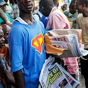 """Guilty or Not Guilty."" Monrovia, Liberia, April 2012."
