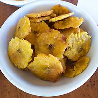 Fried bananas. Cost Rica