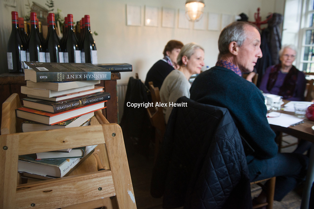 Walter Scott Prize for Historical Fiction shortlist judging at Gardners Cottage in Edinburgh<br /> <br /> picture by Alex Hewitt<br /> alex.hewitt@gmail.com<br /> 07789 871 540