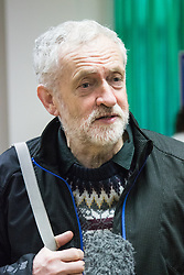 Finsbury Park Mosque, London, February 7th 2016. Labour leader and local MP Jeremy Corbyn pictured at Finsbury Park Mosque during the Visit My Mosque initiative by the Muslim Council of Britain to show non-Muslims &ldquo;how Muslims connect to God, connect to communities and to neighbours around them&rdquo;.<br /> . ///FOR LICENCING CONTACT: paul@pauldaveycreative.co.uk TEL:+44 (0) 7966 016 296 or +44 (0) 20 8969 6875. &copy;2015 Paul R Davey. All rights reserved.