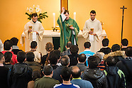 Refugees baptized into Christ