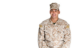 Young Male Marine David