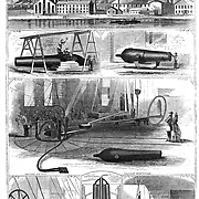 Civil War: Making guns at Pittsburgh Pennsylvania. Harper's Weekly, August 23, 1862  Arms industry in the Union (North)