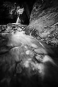 Shinumo Creek and watefall in the Grand Canyon.